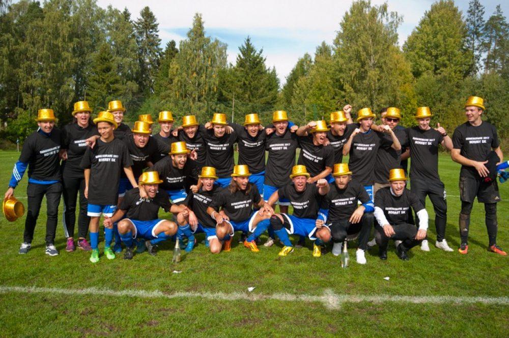 Division 6-historia: En seger och sju andraplatser för Norrby SK