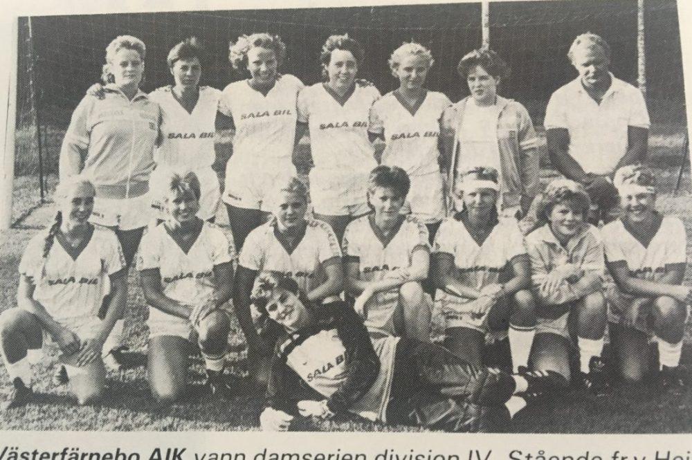 Västerfärnebo AIK har haft ett framgångsrikt damlag