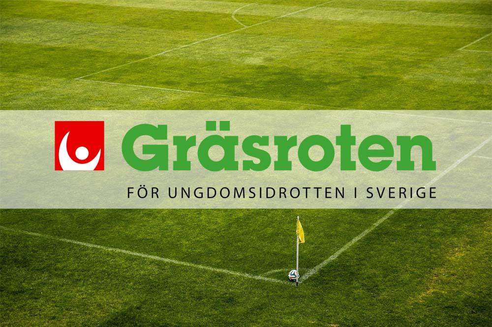 Välkommet förskott till fotbollsklubbarna från Gräsroten