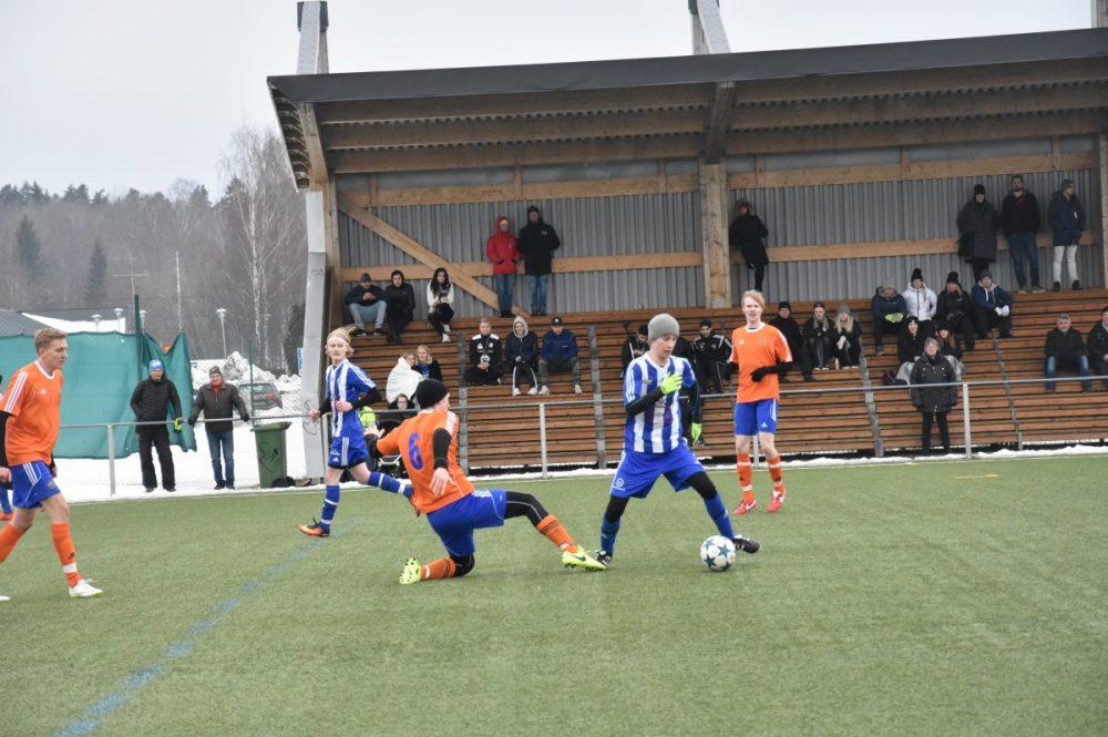 I halvtid: Norrby SK:s unga reservlag har stått för en bra vår