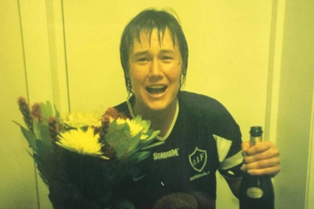 Johanna var lagkapten när ÖIF vann för 18 år sedan