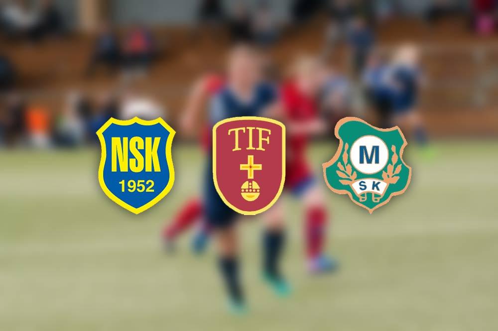 Mer om klubbarna som NSK, TIF och MSK ska möta