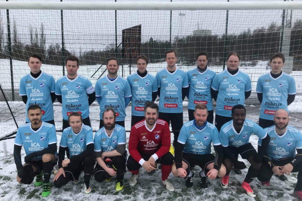 FK Sala förlorade på snöigt Lärkan