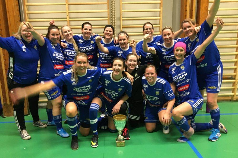 En stortorsk - ändå fixade Norrby SK segern i Veterancupen