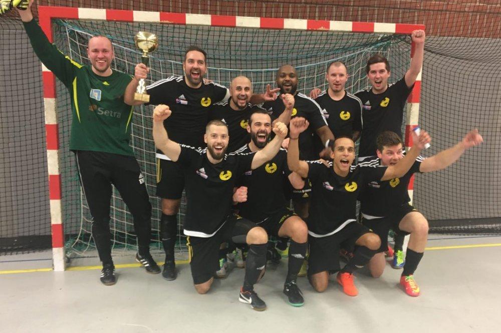 Heby United höll vad de lovade - vann Veterancupen