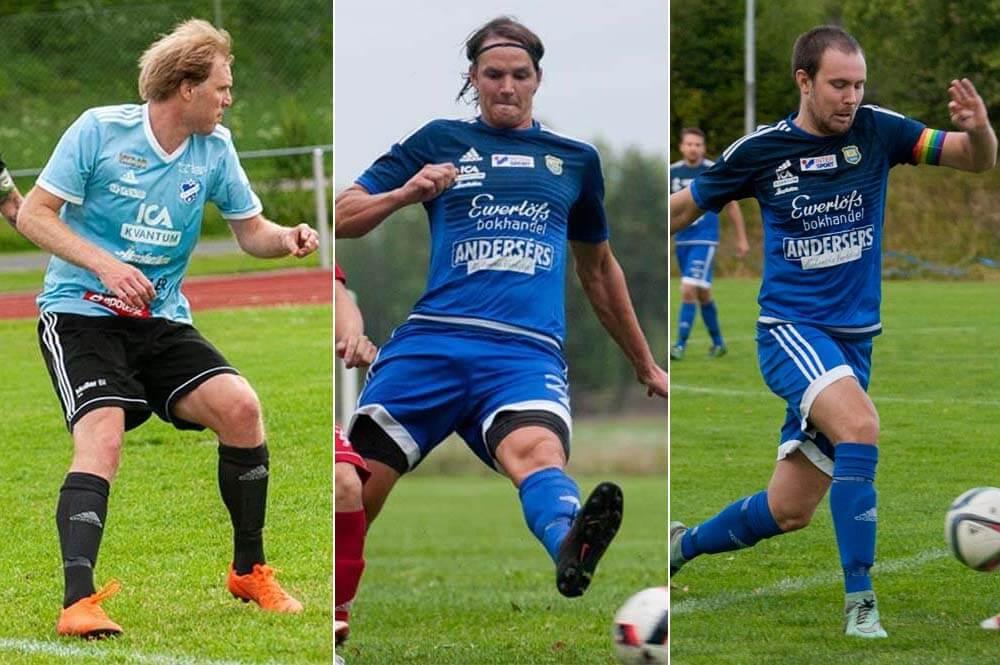 """""""Wille"""", """"Hagge"""" och """"Limpan"""" klara för FK Sala"""