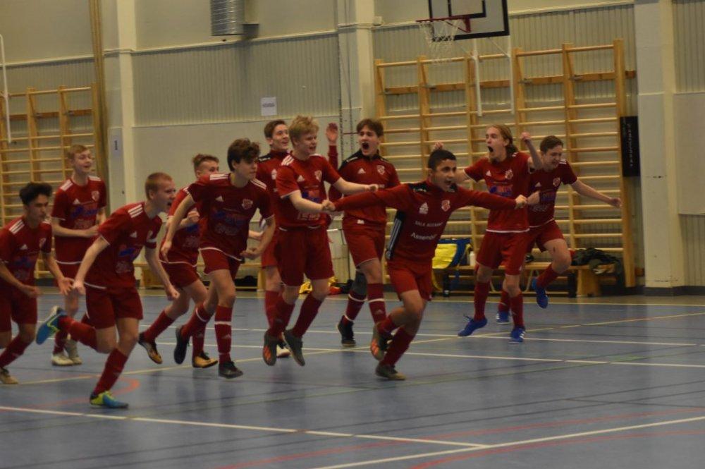 Straffdrama när Sala FF P04 vann Hebycupen