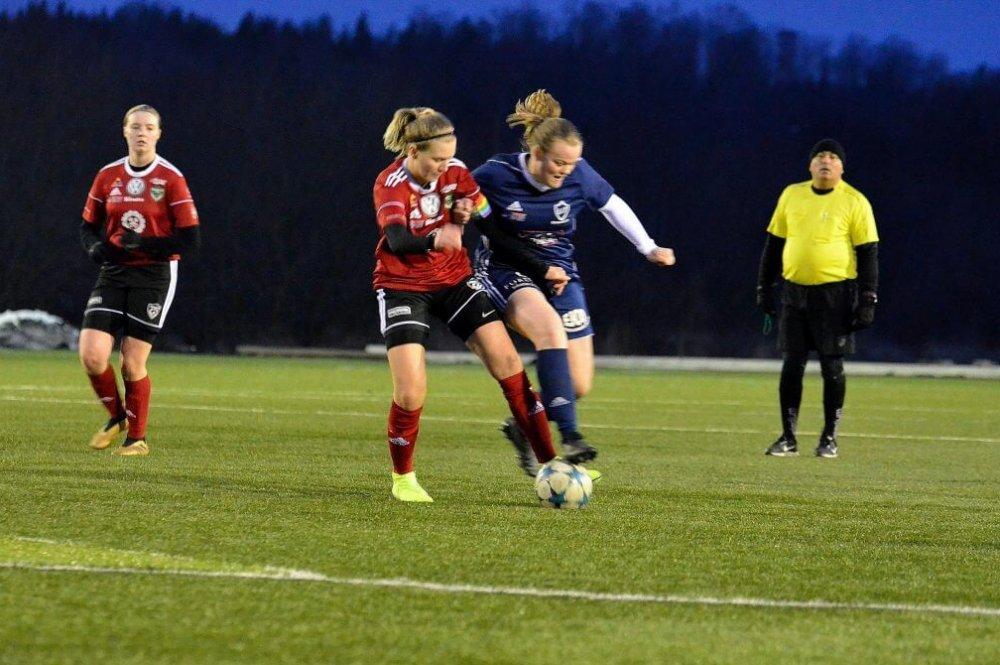 Pernilla fyramålsskytt - ÖIF på väg mot kvartsfinal