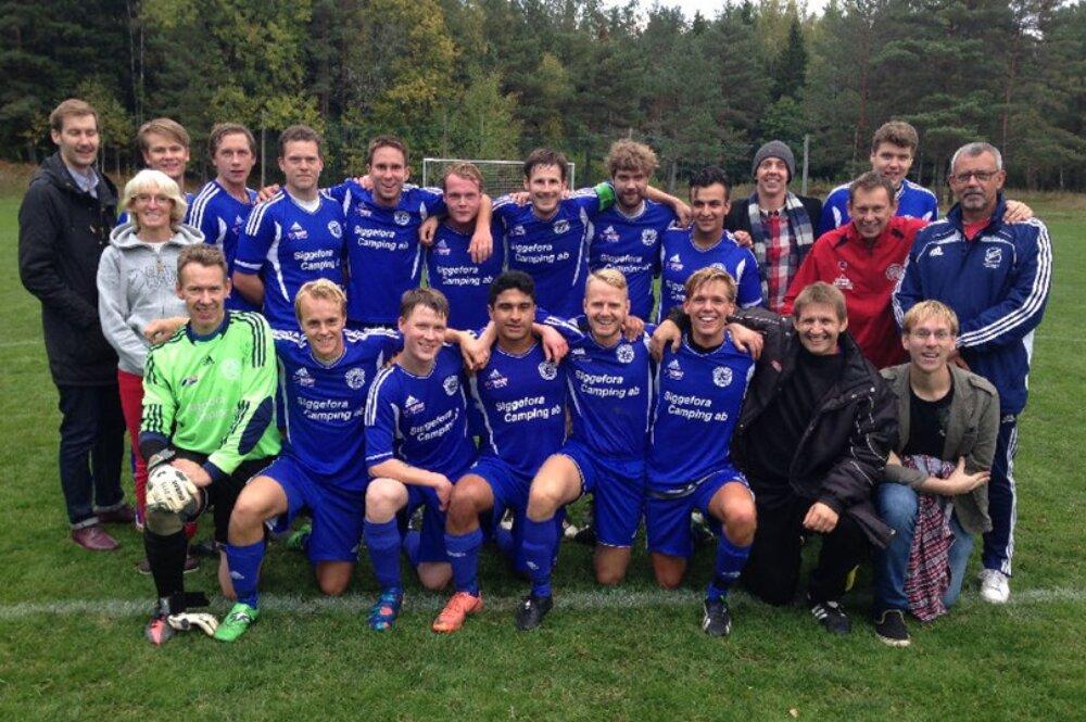 Fem lokala fotbollsklubbar har spelat i division 8