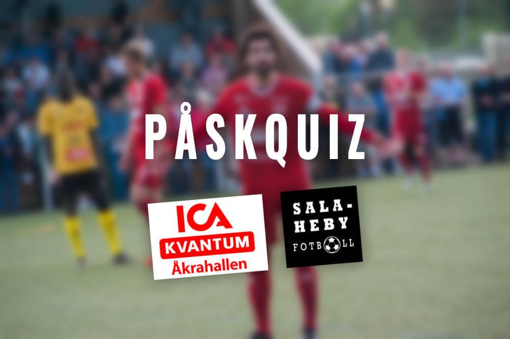 Var med och tävla i ICA Åkrahallens påskquiz