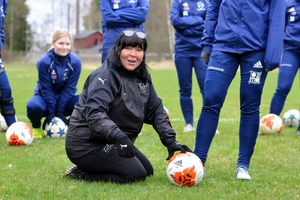 Eija slipade på Östervåla IF:s spelares tillslag