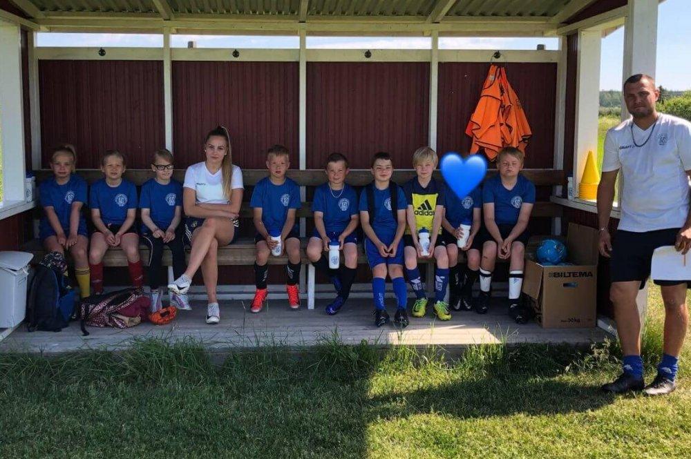 Västerfärnebo AIK:s fotbollsskola lockade 44 barn och ungdomar