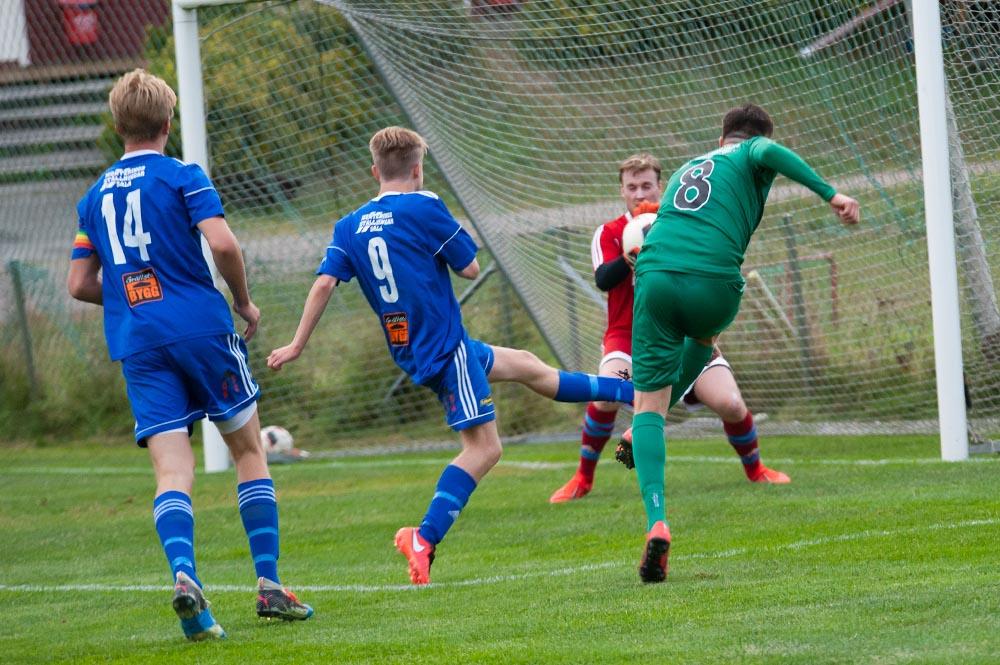 Norrby SK inleder på Norrbyliden mot IK Oden