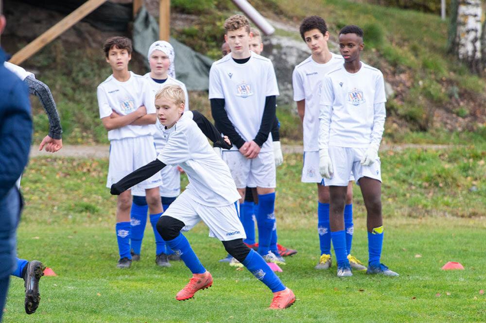 NF Academy på Norrbyliden med många lokala spelare