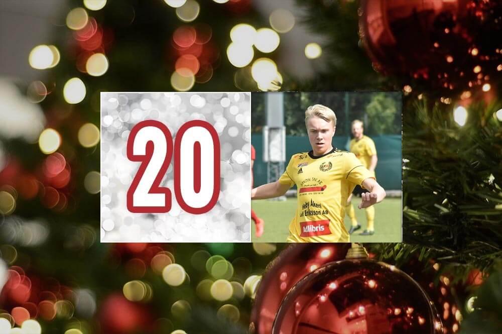 Sala-Heby Fotbolls adventskalender 2020 - Lucka 20
