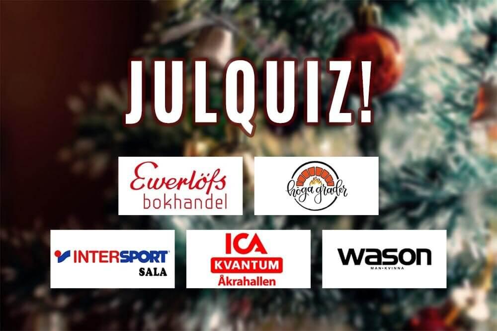 Rättat och klart - här har ni de fem vinnarna i Julquizet!