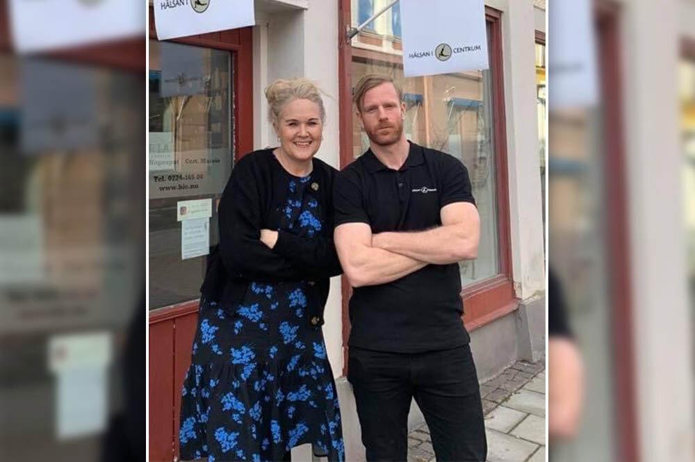 """Jonas blir delägare i Hälsan i Centrum - """"Ska bli riktigt kul"""""""
