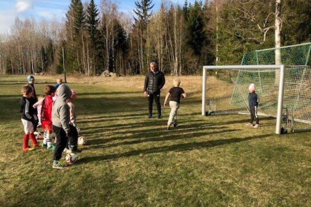 """Många ville vara med på Vittinge IK:s kickoff - """"En överraskning"""""""