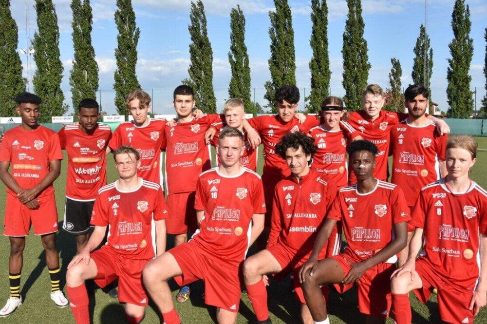 """Seriestart: Sala FF:s juniorer - """"Viktigast att utbilda spelarna"""""""