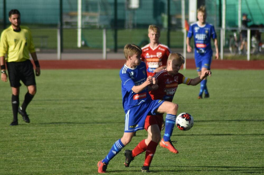Bildspel från onsdagens möte mellan Sala FF och Norrby SK