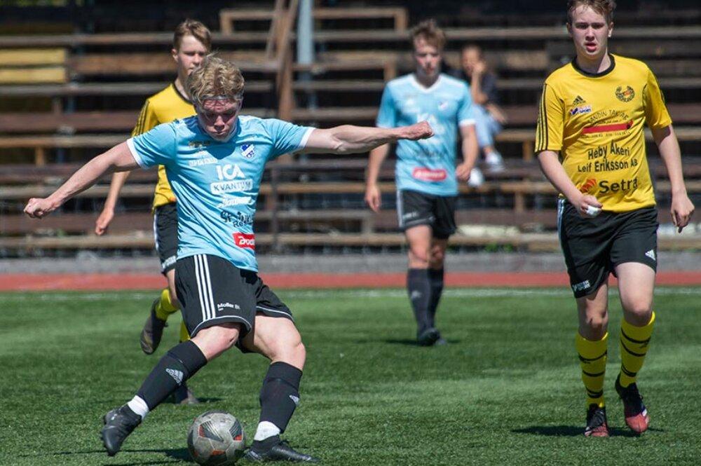 Hattrick av Ludde när FK Sala fixade en femetta