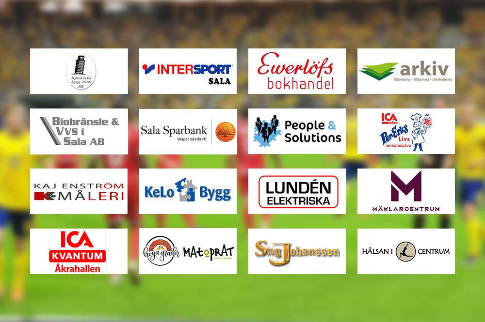 Två tippade bäst bland Sala-Heby Fotbolls samarbetspartner