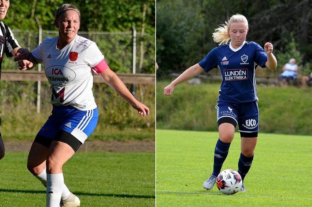 Målrik träningsmatch i Tärnsjö när Fanny stod för tre mål