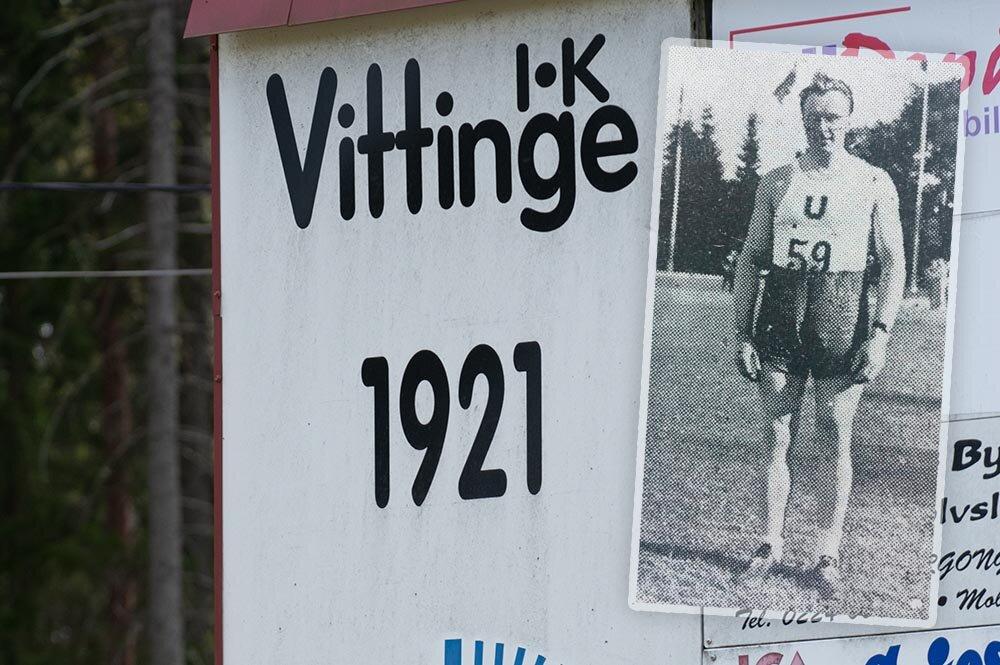 Vittinge IK 100 år: Anton vann SM och slog svenskt rekord