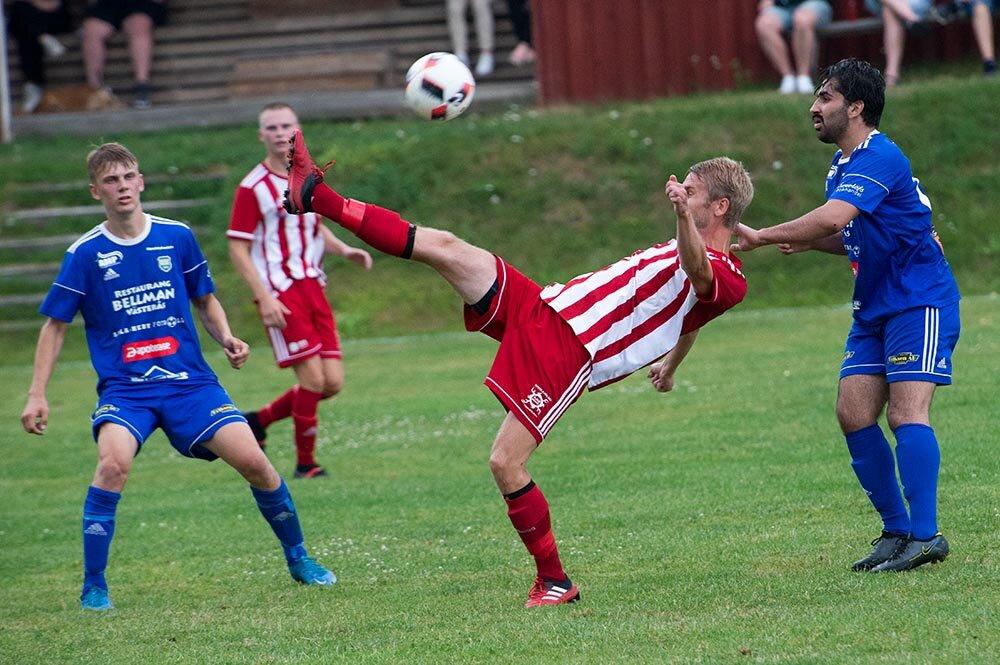 Bildspel från träningsderbyt mellan Norrby SK och Ransta IK