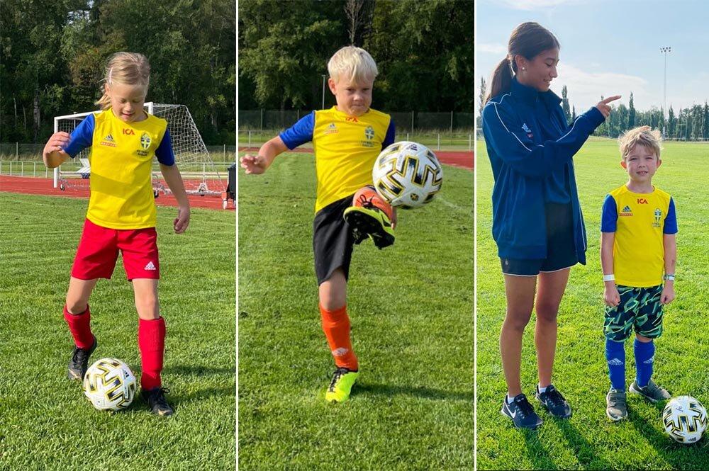 Fotbollsskola med betoning på lek och kamratskap