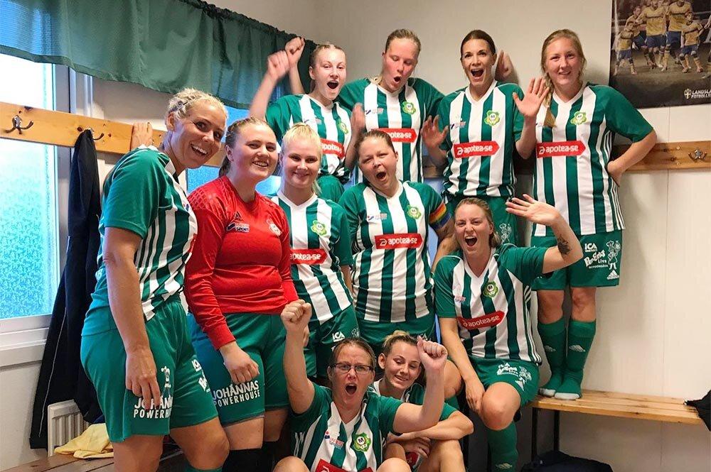 Skiljebo SK och Norrby SK till Ramsjövallen för sjumannafotboll