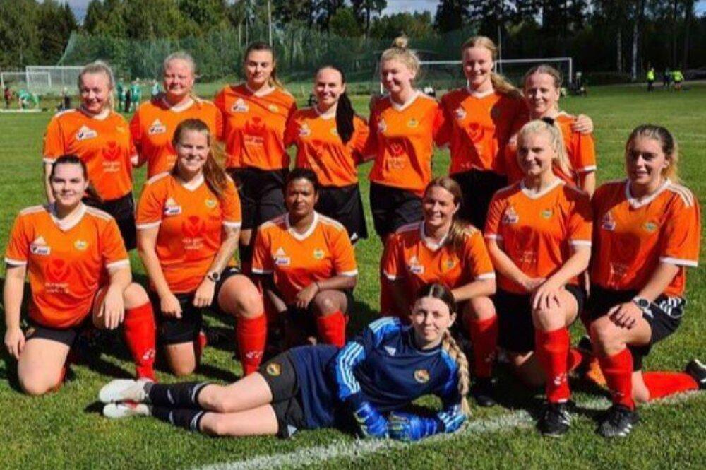 Lyckad start på sjumannaserien - kombinationslaget vann två matcher